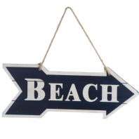 'This Way To The Beach' Sign